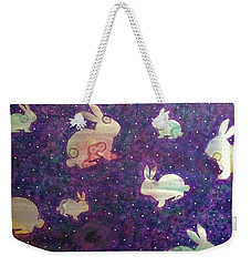 Black Holes And Bunnies Weekender Tote Bag