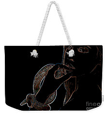 Black Light Weekender Tote Bag
