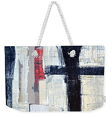 Black Lines Abstract 2.0 Weekender Tote Bag