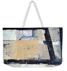 Black Lines Abstract 3.0 Weekender Tote Bag