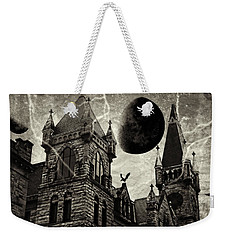 Black Moons Rising Weekender Tote Bag