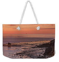 Black Nab Saltwick Bay Weekender Tote Bag