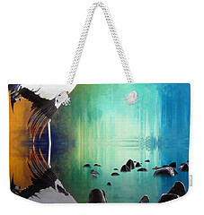 Black Necked Crane Weekender Tote Bag