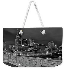 Black Night In Nashville Weekender Tote Bag