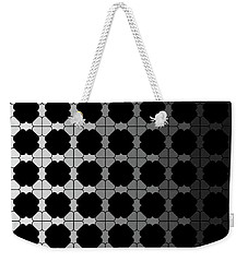 Black Night Weekender Tote Bag
