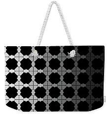 Black Night Weekender Tote Bag