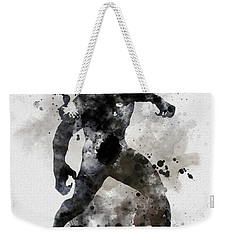 Black Panther Weekender Tote Bag by Rebecca Jenkins