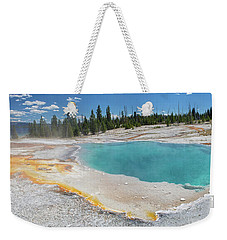 Black Pool Panoramic Weekender Tote Bag