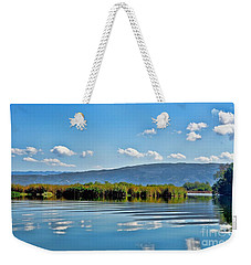 Weekender Tote Bag featuring the photograph Black River  Jamaica by Elaine Manley
