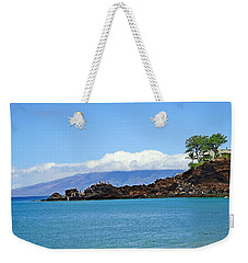 Black Rock Beach And Lanai Weekender Tote Bag