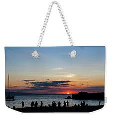 Black Rock Sunset Weekender Tote Bag
