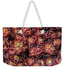 Black Roses Weekender Tote Bag by Mark Barclay