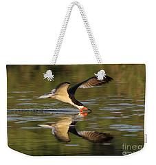 Black Skimmer Fishing Weekender Tote Bag