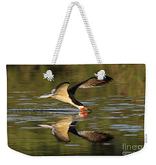 Black Skimmer Fishing Weekender Tote Bag by Meg Rousher