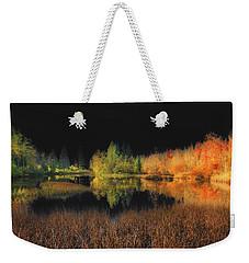 Black Sky Weekender Tote Bag