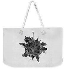 Black Skyround Art Of Moscow, Russia Weekender Tote Bag