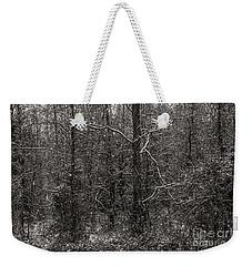 Black Snow Weekender Tote Bag