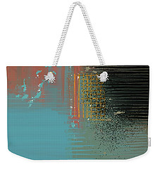 Black Splash Weekender Tote Bag