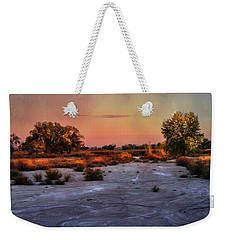 Black Squirrel Creek Fall Scape Weekender Tote Bag by Ellen Heaverlo