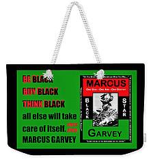 Black Star Garvey Weekender Tote Bag