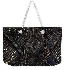 Black Star Weekender Tote Bag