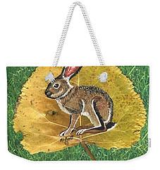 Black Tail Jack Rabbit  Weekender Tote Bag