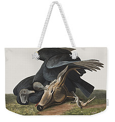 Black Vulture Or Carrion Crow Weekender Tote Bag