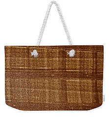 Weekender Tote Bag featuring the photograph Black Walnut Ink Drawing by Tom Janca