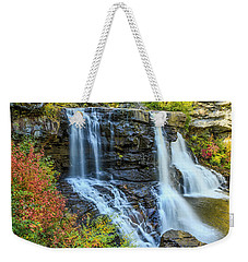 Black Water Falls #3 Weekender Tote Bag