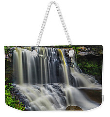 Black Water Falls Weekender Tote Bag
