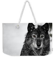 Black Wolf I Weekender Tote Bag
