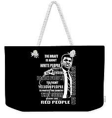 Black Yellow Red Ali Weekender Tote Bag