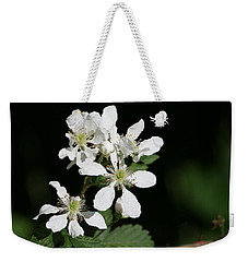 Blackberry Blooms Weekender Tote Bag