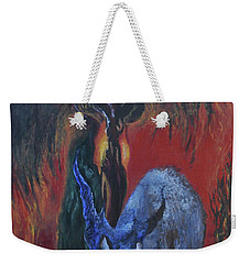 Blackberry Thorn Psychosis Weekender Tote Bag