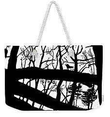 Blackbird In The Woods Weekender Tote Bag by Martin Stankewitz