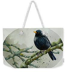 Blackbird Painting Weekender Tote Bag