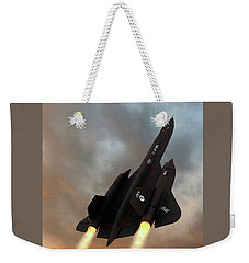 Blackbird Rising Weekender Tote Bag by Dave Luebbert