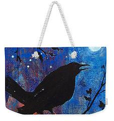 Blackbird Singing Weekender Tote Bag