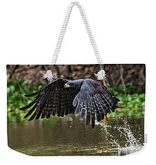 Blackhawk Fishing #1 Weekender Tote Bag by Wade Aiken