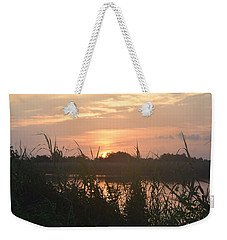 Weekender Tote Bag featuring the photograph Blacks Bayou On National Photographers Day by John Glass