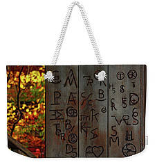 Blacksmith Board Weekender Tote Bag