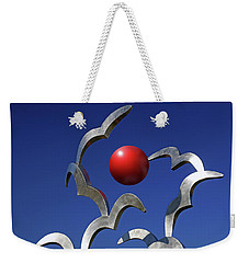 Weekender Tote Bag featuring the photograph Blades And Ball by Christopher McKenzie