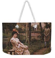 Blair Leighton Off Weekender Tote Bag