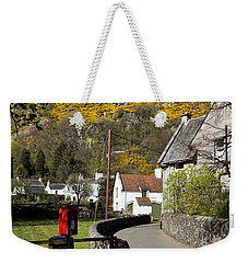 Weekender Tote Bag featuring the photograph Blairlogie by Jeremy Lavender Photography