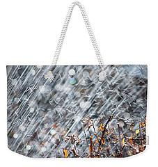 Blame It On The Rain Weekender Tote Bag