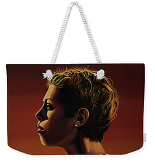 Blanka Vlasic Painting Weekender Tote Bag by Paul Meijering