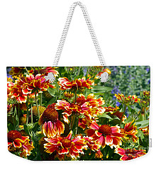 Blanket Flowers Weekender Tote Bag