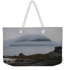 Weekender Tote Bag featuring the photograph Blanket Of Fog by Living Color Photography Lorraine Lynch