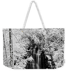 Blanket Of White Weekender Tote Bag