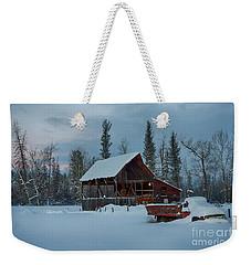 Blanketed Weekender Tote Bag